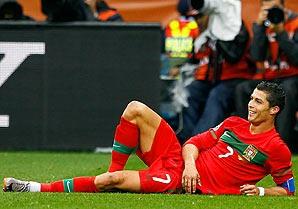 Here's your 1 Cristiano Ronaldo article...