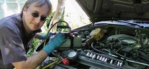Repair air conditioning leaks in your car