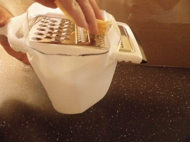 How to Fuse a Grater and Used Milk Jug into a DIY Shredded Cheese Catcher