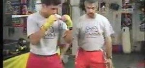 Do the jab in boxing