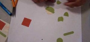 Make a turtle punch using Stampin' Up! products