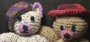 Crochet a cap for an Ogeechee bear