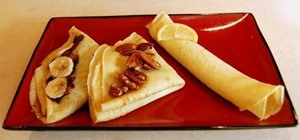 Make easy and delicious thin French crêpes
