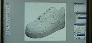 Design custom shoes using Photoshop