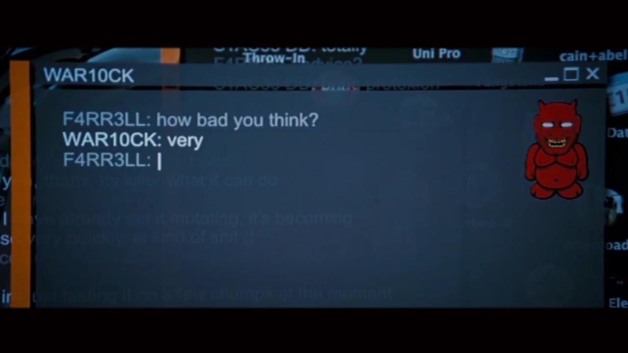 How to Make a Terminal Chat App in Ubuntu Like Die Hard 4?