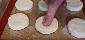 Make buttermilk biscuits