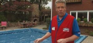 Close a swimming pool with Lowe's