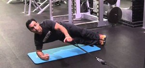 Lose love handles and saddle bags with a lifted side plank