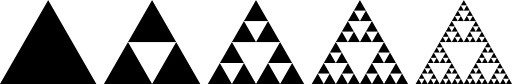 Crafting with Suzanne: How to make a Sierpinski Christmas Tree
