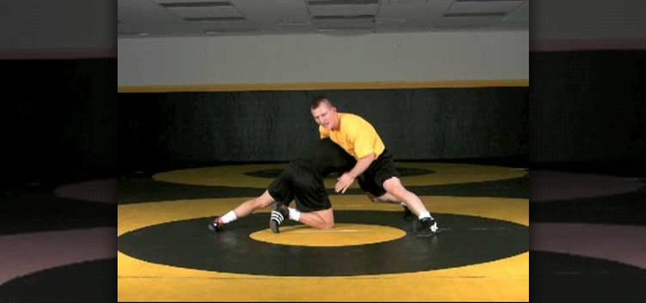 How to Defend a high crotch for 3 point throw wrestling « Wrestling