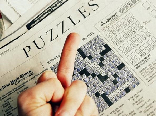 How to Idiot's Secret Guide to Mastering Crossword Puzzles