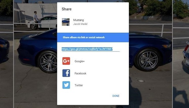 How Share Picture Albums with Friends & Family on Google Photos
