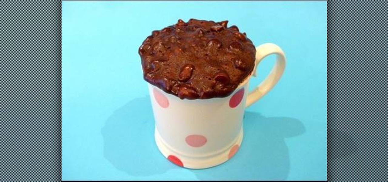 How Do You Make A Mug Cake In The Microwave