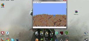 Use the Terrafirma mapper to see your Terraria world