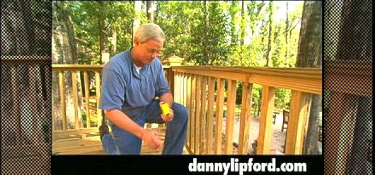 How To Build Handrails For Your Deck 171 Furniture