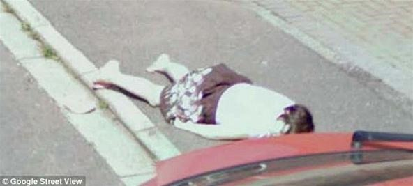 """Dead"" Girl Pranks the World on Google Street View"