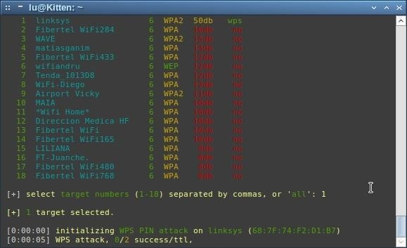 How to Crack WPS with Wifite