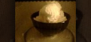 Make soap souffle in the microwave