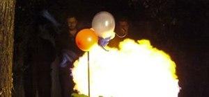 Make a propane balloon of doom