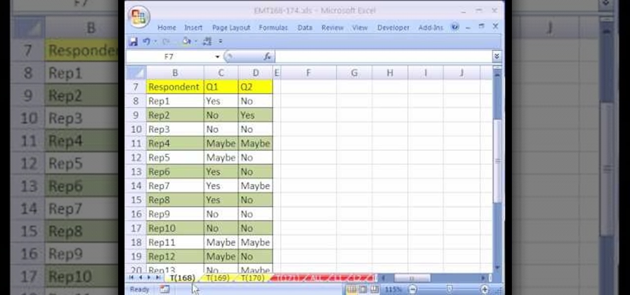 How To Summarize Survey Results With A Pivot Table In Excel