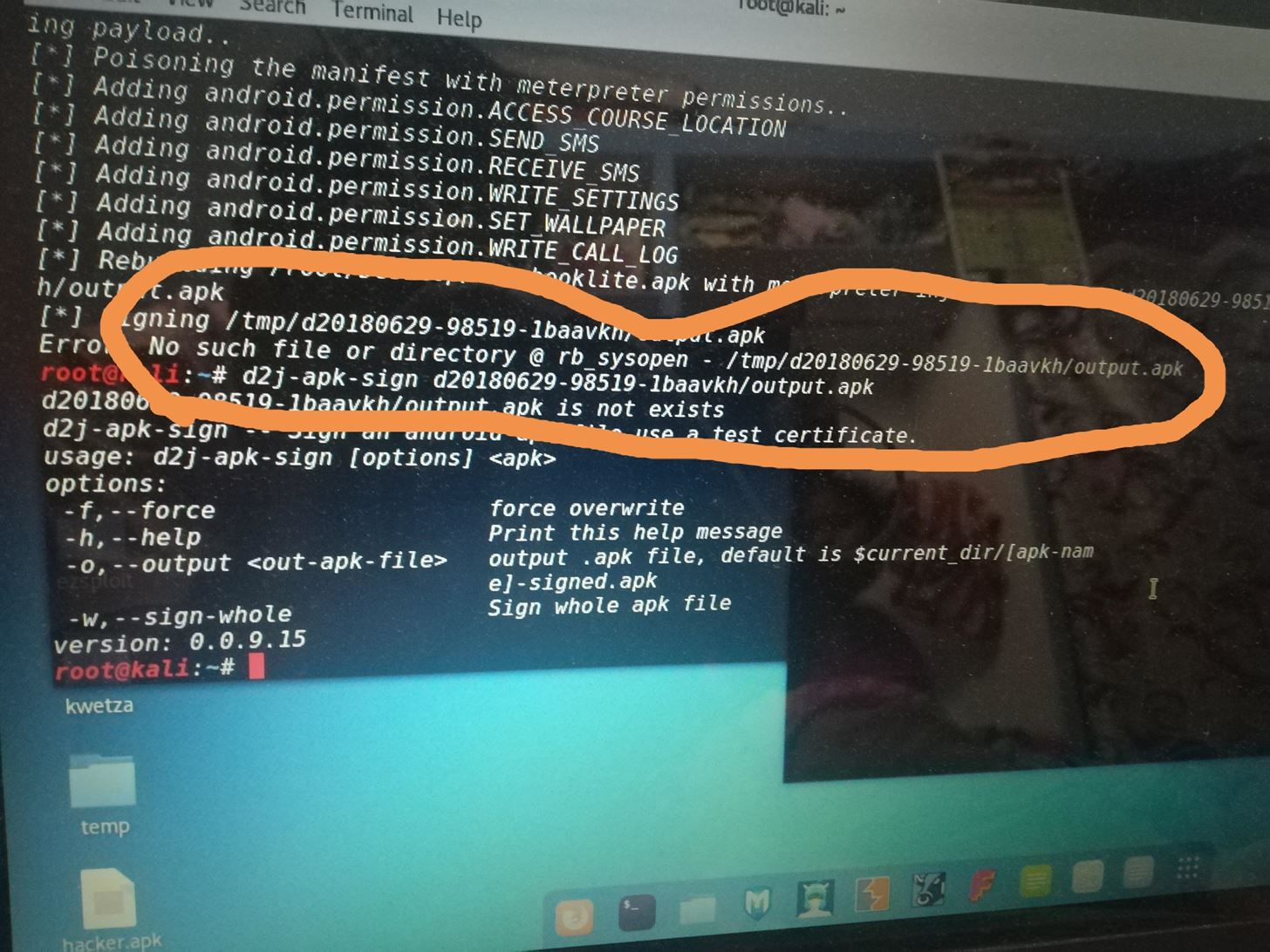 Embed a Metasploit Payload in an Original  Apk File « Null Byte