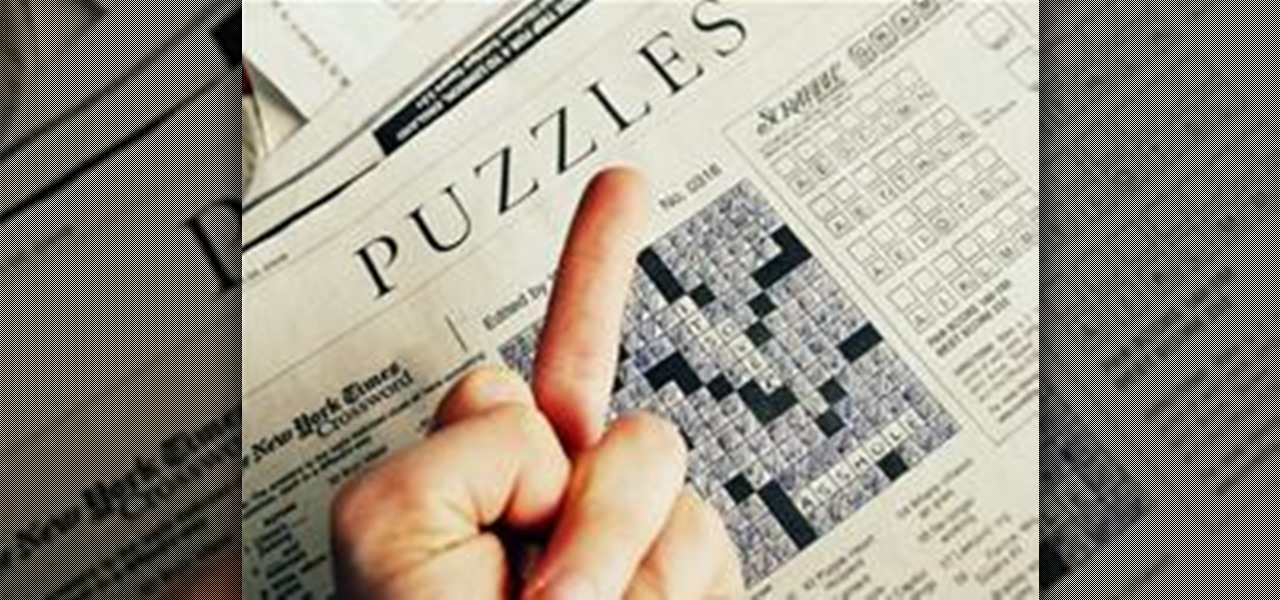 Dominate the New York Times Crossword Puzzle