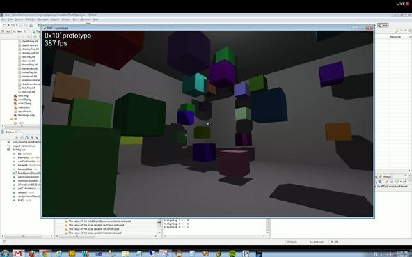 A Screen-Grab Roundup of 0x10c's 3D Shape Editor Engine Progress So Far