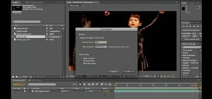Warp time in Adobe After Effects CS5
