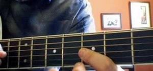 """Play """"SOS""""  by the Jonas Brothers on the guitar"""