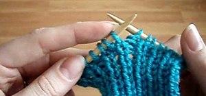 Knit rib/ribbed fabric for basic knitting