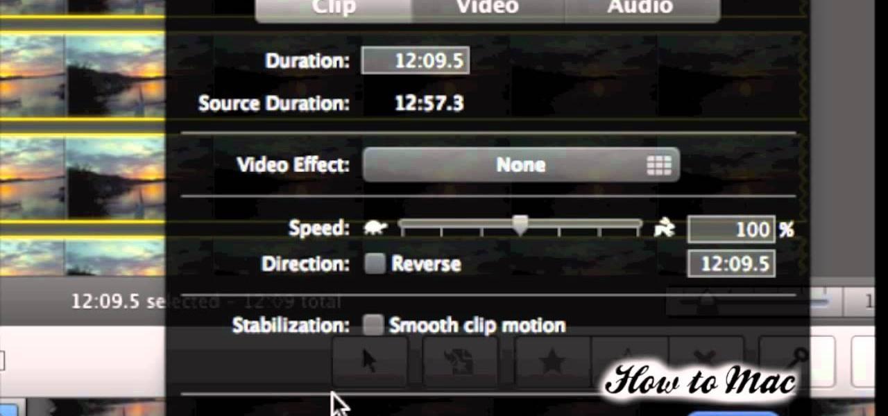 How to Make a time lapse video using iMovie « iMovie