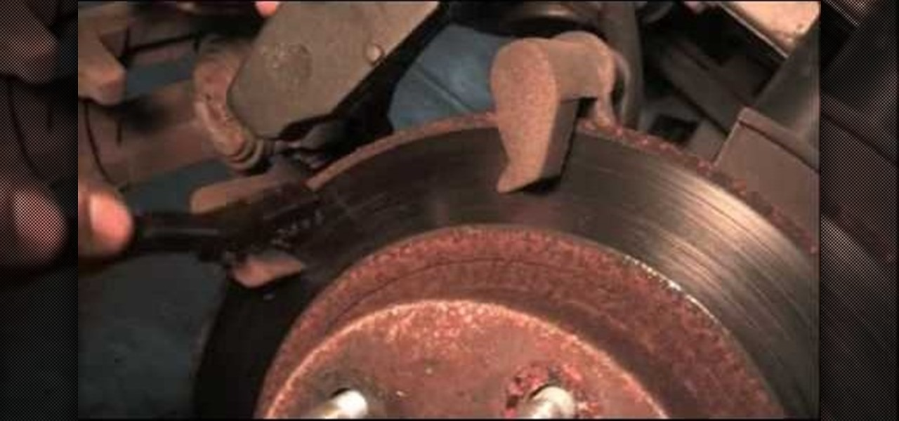 How To Change The Rear Brakes On A Ford Taurus Auto Maintenance Repairs Wonderhowto