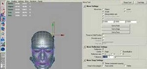 Use the reflect operation on the move tool in Maya
