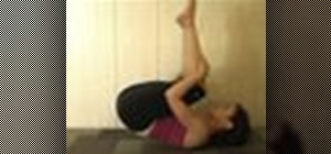 Do a somersault to get out of a yoga handstand