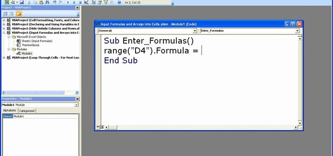 How to enter formulas in excel with a macro microsoft office how to enter formulas in excel with a macro microsoft office wonderhowto ibookread Download