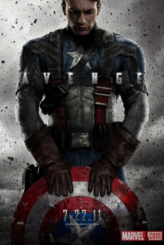 First Teaser Movie Poster for Captain America