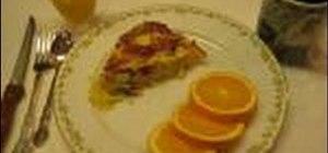 Make Betty's breakfast casserole