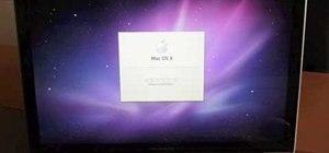 Do a full fresh install of Snow Leopard OS X 10.6