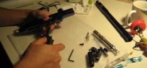 Clean a Spyder Marker paintball gun