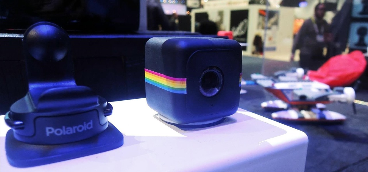 The CUBE Action Camera, Polaroid's Answer to the GoPro
