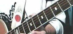 Open tune a guitar (open C tuning)