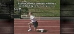 Use plyometrics drills to maximize speed