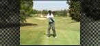 How to Hit drives from a kneeling position