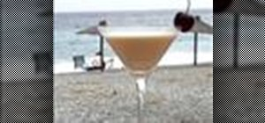 Make a Banana Rum Cream cocktail