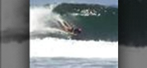 Do the air roll spin for bodyboarding
