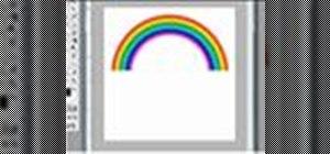 Createa rainbow in Photoshop