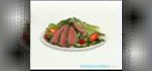 Make a steak salad