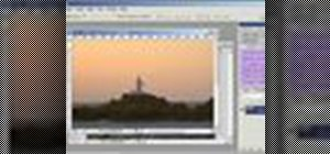 Light up a lighthouse in a photo using Photoshop