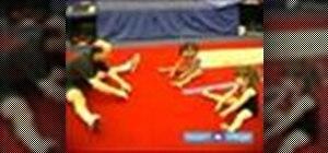 Teach preschool gymnastics